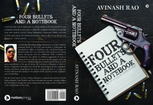 Four Bullets and a Notebook_cover1_Rev2.indd