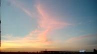 Fire in the clouds